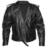 Biker leather jacket Classic style