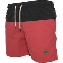 Swim Shorts (Black/Red)