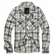 Checkshirt Fred black off white