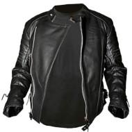 Leather jacket Old school full black