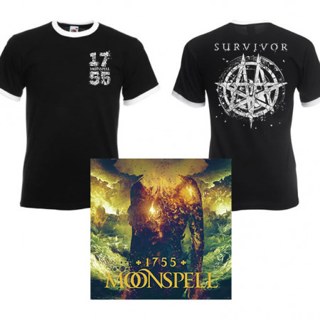 1755 Survivor Ringer Tshirt + CD