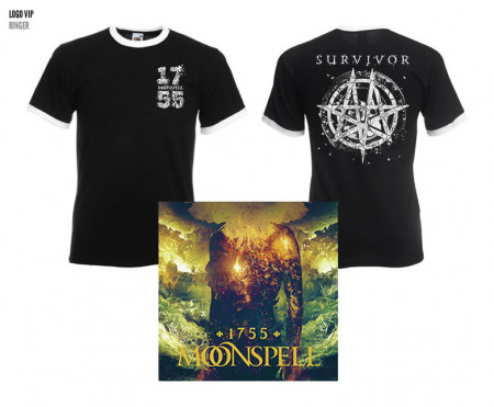 - 1755 Survivor Ringer Tshirt + CD