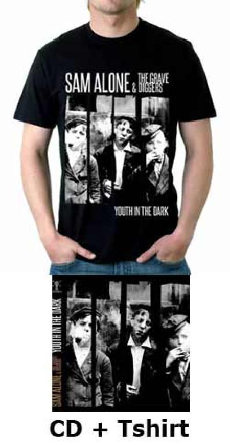 - Youth In The Dark (Black) Tshirt + CD