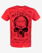 "Alchemy - t-shirt aea ""redlabel webnet"" furious red"