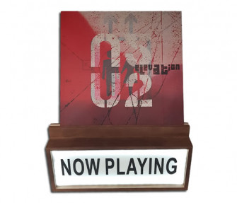 - Now Playing   Record LED display stand
