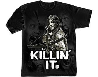 - Walking Dead - killin it