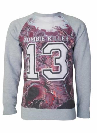 - Zombie Killer Blue Sweatshirt