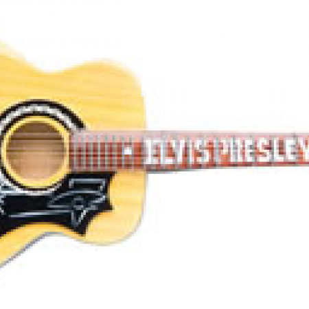 ELVIS PRESLEY  J-200 Signature Fingerboard style