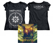 1755 Compass Lisboa Logo Girlie Tshirt + CD