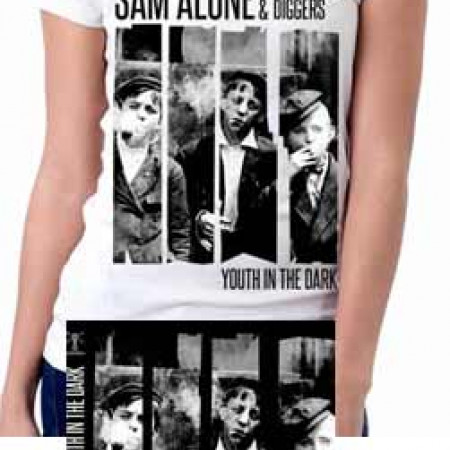 Youth In The Dark (White) Tshirt + CD