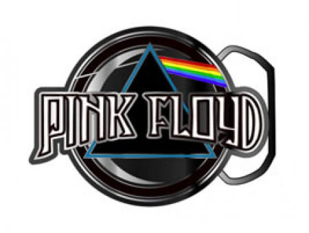 - Pink Floyd - Enamel Filled Logo Buckle