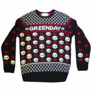 Green Day Jumper: Skull Jumper
