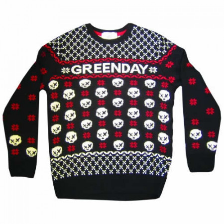 Green Day Jumper: Skull Jumper