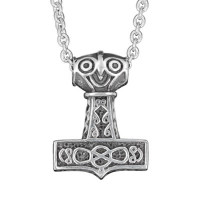 Ancient Thorhammer with chain