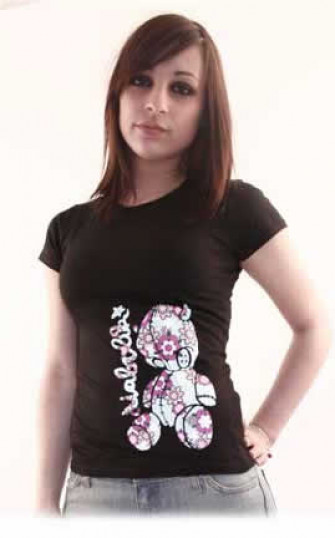 - Flower puppet Tshirt