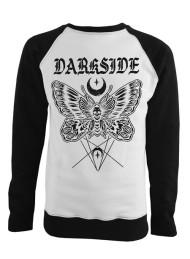 Death Moth Black and White Sweatshirt