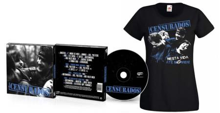 - Censurados (CD + Tshirt Preta)