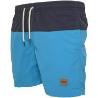 Swim Shorts (Black/Blue)