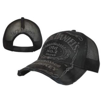 - Jack Daniels - Black, Vintage Trucker Cap