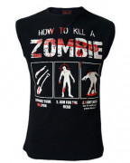 How To Kill A Zombie Muscle Vest