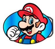 Nintendo - Mario Buckle