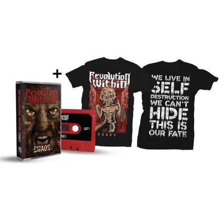 - Chaos Tshirt + Tape