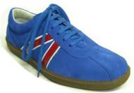 Steelground Sneaker blue suede