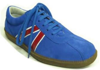 - Steelground Sneaker blue suede