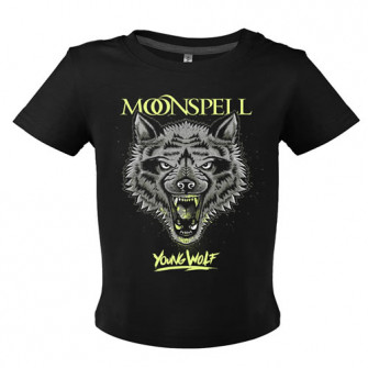 - Young Wolf (Black, Baby Tshirt)