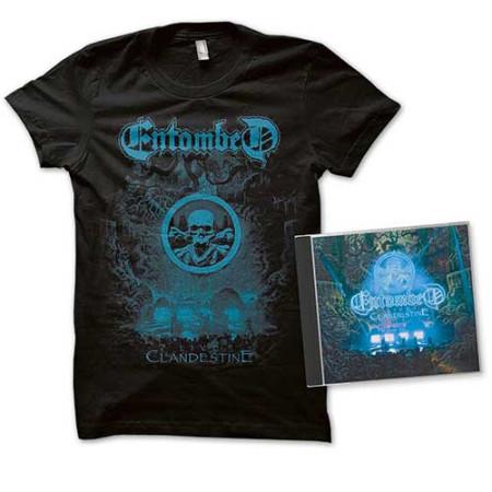 - Clandestine Live (Tshirt + CD)