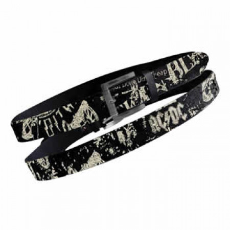 ACDC - Cracked W Full Print Belt