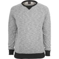 Melange Terry Crewneck Sweatshirt grey/charcoal