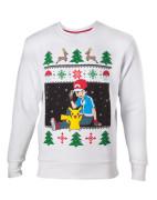 Pokémon - ash & pikachu christmas sweater