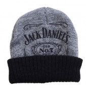 Jack Daniels - Beanie, Black/Grey