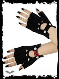 Fingerless Gloves with Killer Studs