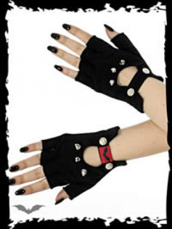 - Fingerless Gloves with Killer Studs