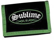 Sublime - Green Velcro Wallet