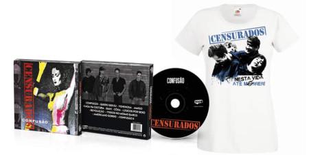 - Confusão (CD + Tshirt Branca)
