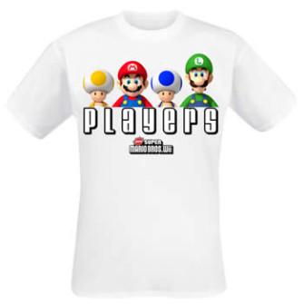 - Nintendo Players White Shirt (Tr)