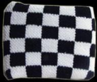 White and Black Chequered