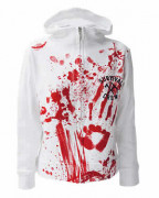 Zombie Killer White Womens Rocka Hood
