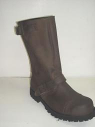 Steelground Close leg boot tan greasy