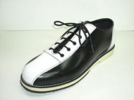Steelground Bowling shoe black/white leather