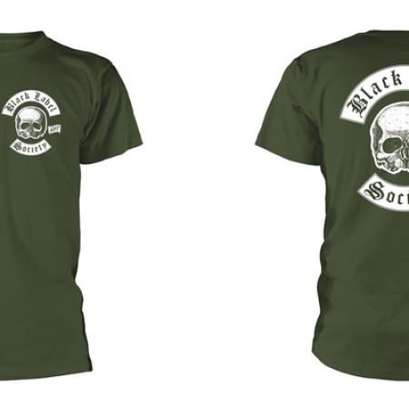 Skull Logo Pocket (Olive)