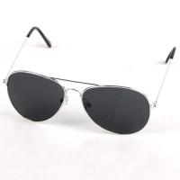 Pilotenbrille schwarz getönt