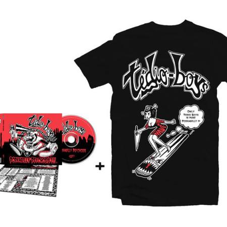 Pin Up Tshirt + CD Porkabilly Psychosis