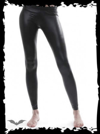 - Leather Look Leggings