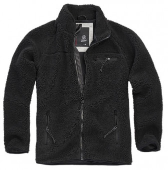 - Teddyfleece Jacket BLK