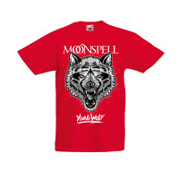 Young Wolf (Red, Kids Tshirt)