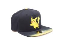 Pokémon - Dip Dye Snapback Cap with Rubber Pikachu